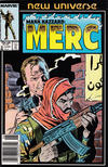 Cover for Mark Hazzard: Merc (Marvel, 1986 series) #8 [Newsstand]