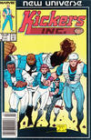 Cover for Kickers, Inc. (Marvel, 1986 series) #9 [Newsstand]