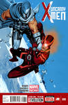 Cover for Uncanny X-Men (Marvel, 2013 series) #8 [Direct Edition]