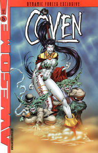 Cover Thumbnail for The Coven (Awesome, 1997 series) #5 [Dynamic Forces Exclusive Alternate Cover]
