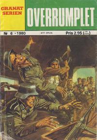 Cover Thumbnail for Granat Serien (Atlantic Forlag, 1976 series) #6/1980