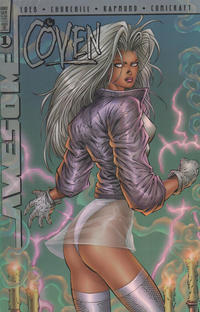Cover Thumbnail for The Coven (Awesome, 1997 series) #1 [Dynamic Forces Exclusive Chrome Edition]
