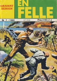 Cover Thumbnail for Granat Serien (Atlantic Forlag, 1976 series) #7/1980