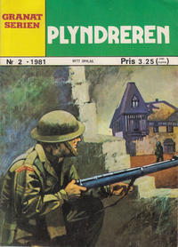 Cover Thumbnail for Granat Serien (Atlantic Forlag, 1976 series) #2/1981