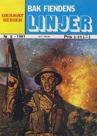 Cover Thumbnail for Granat Serien (Atlantic Forlag, 1976 series) #5/1981