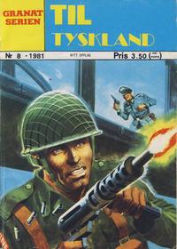 Cover Thumbnail for Granat Serien (Atlantic Forlag, 1976 series) #8/1981