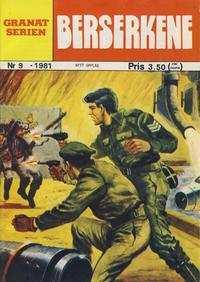 Cover Thumbnail for Granat Serien (Atlantic Forlag, 1976 series) #9/1981