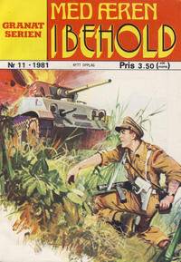 Cover Thumbnail for Granat Serien (Atlantic Forlag, 1976 series) #11/1981