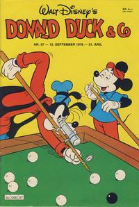 Cover Thumbnail for Donald Duck & Co (Hjemmet / Egmont, 1948 series) #37/1978