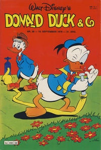 Cover Thumbnail for Donald Duck & Co (Hjemmet / Egmont, 1948 series) #38/1978
