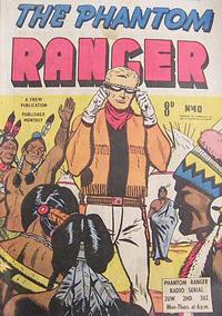 Cover Thumbnail for The Phantom Ranger (Frew Publications, 1948 series) #40