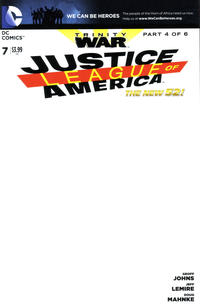 Cover Thumbnail For Justice League Of America DC 2013 Series 7