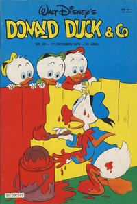 Cover Thumbnail for Donald Duck & Co (Hjemmet / Egmont, 1948 series) #42/1978