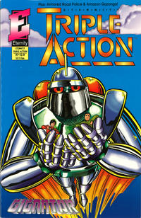 Cover Thumbnail for Eternity Triple Action (Malibu, 1993 series) #2