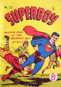 Cover Thumbnail for Superboy (K. G. Murray, 1949 series) #52