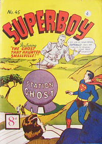 Cover Thumbnail for Superboy (K. G. Murray, 1949 series) #45