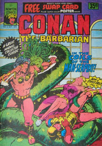 Cover Thumbnail for Conan the Barbarian (Newton Comics, 1975 series) #6