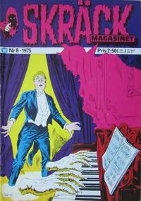 Cover Thumbnail for Skräckmagasinet (Williams Förlags AB, 1972 series) #8/1975