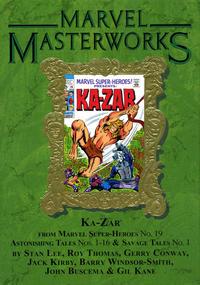 Cover Thumbnail for Marvel Masterworks: Ka-Zar (Marvel, 2013 series) #1 (190) [Limited Variant Edition]