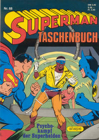 Cover Thumbnail for Superman Taschenbuch (Egmont Ehapa, 1976 series) #68