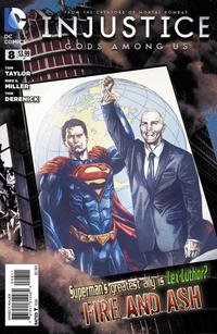 Cover Thumbnail for Injustice: Gods Among Us (DC, 2013 series) #8
