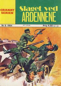 Cover Thumbnail for Granat Serien (Atlantic Forlag, 1976 series) #5/1984