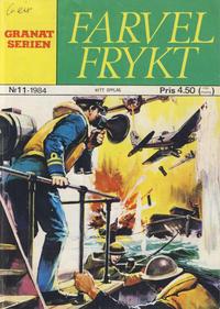 Cover Thumbnail for Granat Serien (Atlantic Forlag, 1976 series) #11/1984