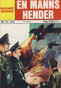 Cover Thumbnail for Granat Serien (Atlantic Forlag, 1976 series) #12/1984