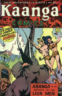 Cover Thumbnail for Kaänga Comics (H. John Edwards, 1950 ? series) #4