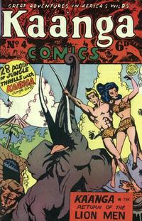 Cover Thumbnail for Kaänga Comics (H. John Edwards, 1950 ? series) #4