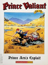 Cover Thumbnail for Prince Valiant (Fantagraphics, 1984 series) #38 - Prince Arn's Exploit