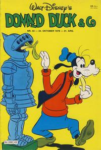 Cover Thumbnail for Donald Duck & Co (Hjemmet / Egmont, 1948 series) #43/1978