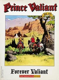 Cover Thumbnail for Prince Valiant (Fantagraphics, 1984 series) #40 - Forever Valiant