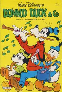 Cover Thumbnail for Donald Duck & Co (Hjemmet / Egmont, 1948 series) #45/1978