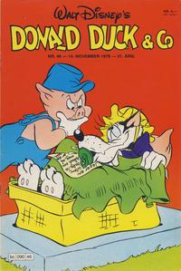 Cover Thumbnail for Donald Duck & Co (Hjemmet / Egmont, 1948 series) #46/1978