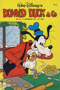 Cover Thumbnail for Donald Duck & Co (Hjemmet / Egmont, 1948 series) #49/1978
