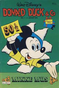 Cover Thumbnail for Donald Duck & Co (Hjemmet / Egmont, 1948 series) #1/1979