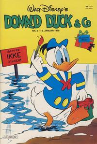 Cover Thumbnail for Donald Duck & Co (Hjemmet / Egmont, 1948 series) #2/1979