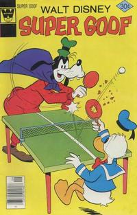 Cover Thumbnail for Walt Disney Super Goof (Western, 1965 series) #43 [Whitman]
