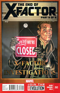 Cover Thumbnail for X-Factor (Marvel, 2006 series) #262
