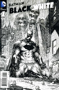 Cover Thumbnail for Batman Black and White (DC, 2013 series) #1 [Marc Silvestri variant]