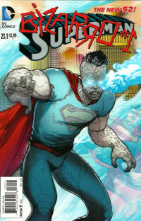 Cover Thumbnail for Superman (DC, 2011 series) #23.1 [3-D Motion Cover]