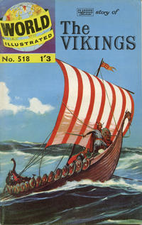 Cover Thumbnail for World Illustrated (Thorpe & Porter, 1960 series) #518 - Story of Vikings