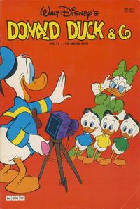 Cover Thumbnail for Donald Duck & Co (Hjemmet / Egmont, 1948 series) #11/1979