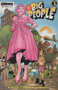 Cover Thumbnail for Here Come the Big People (Event Comics, 1997 series) #1 [DF Exclusive Alternate Cover]