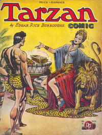 Cover Thumbnail for Tarzan Comic (Donald F. Peters, 1950 series) #v2#15