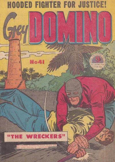 Cover for Grey Domino (Atlas, 1950 ? series) #41