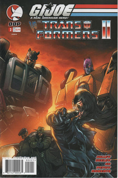 Cover for G.I. Joe vs. The Transformers Comic Book (Devil's Due Publishing, 2004 series) #2