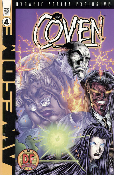 Cover for The Coven (Awesome, 1997 series) #4 [DF Exclusive Alternate Cover]
