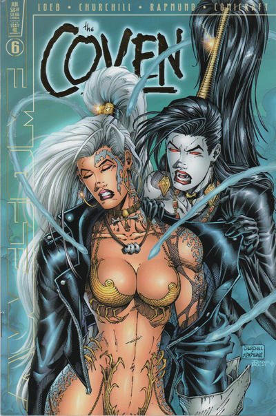 Cover for The Coven (Awesome, 1997 series) #6 [Exclusive Dynamic Forces Gold Foil Edition]